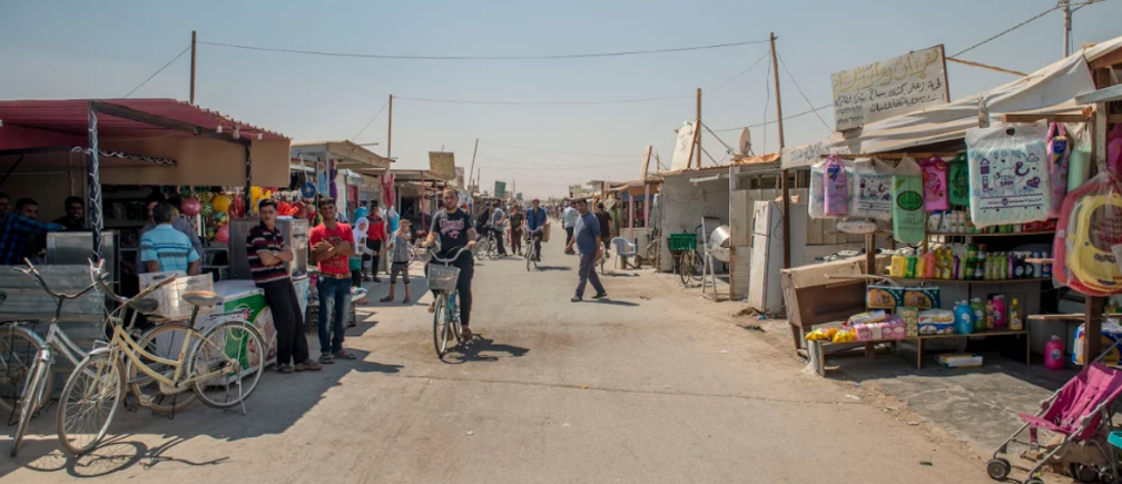Syrian refugees in Jordan turning to sci-fi tech and business . . .