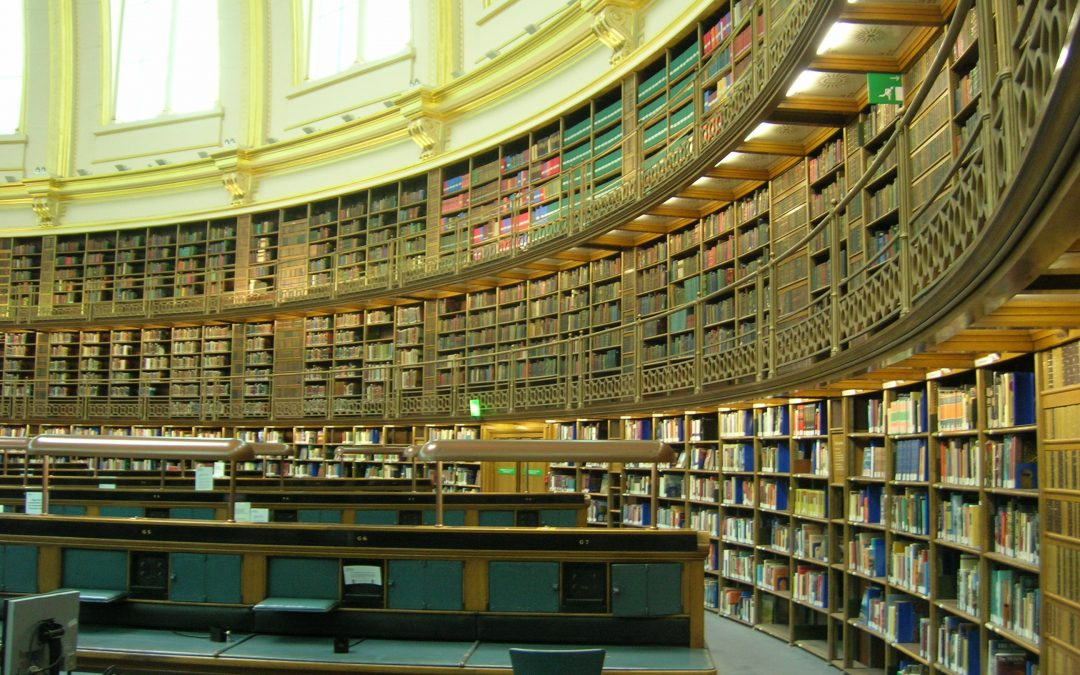 The British Library of Euston Road, London
