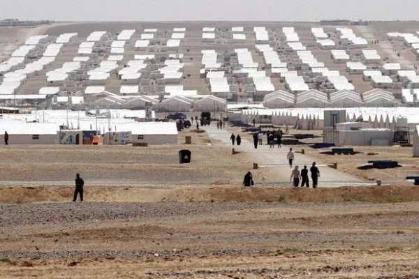 Middle East 1 in 20 displaced people from their homes