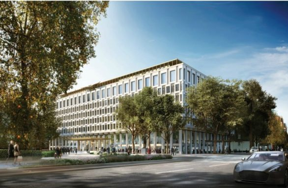 Qatari owned former US Embassy approved for a Hotel