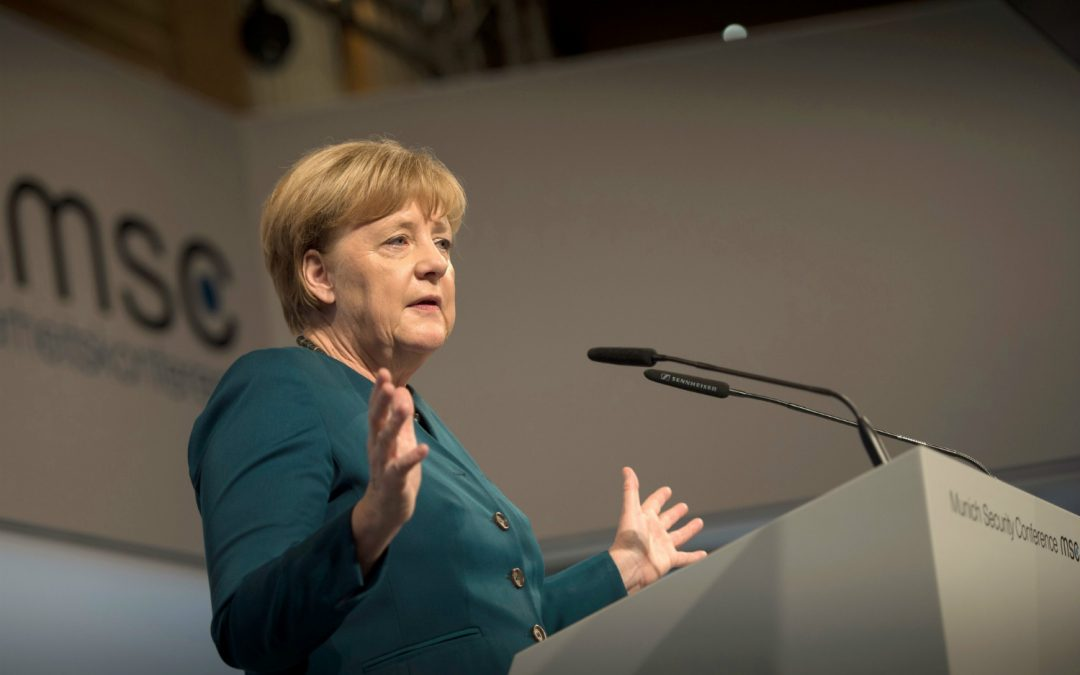Chancellor Angela Merkel in Algiers on 20 and 21 February