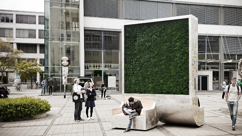 "A ""City Tree"" that is like a Green Wall"