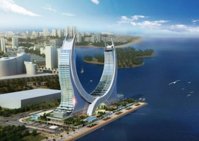 The Katara Towers at Lusail Credit Kling Consult