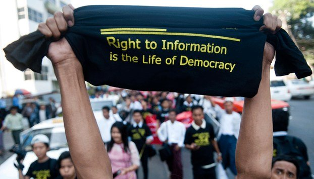 The MENA region lacks Professional Journalism