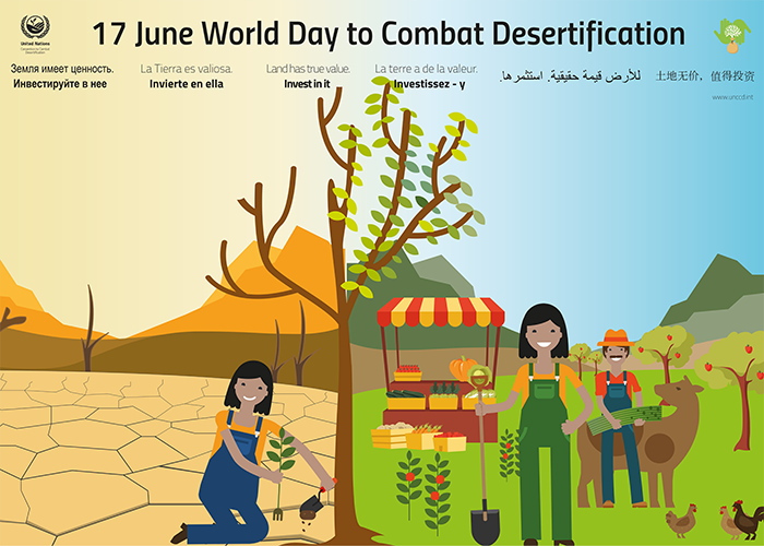 June 17th 2018, Day to Combat Desertification